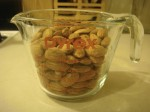 almonds pyrex cup